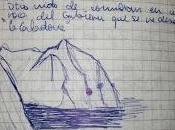 Notas cuaderno sobre último Quebrantahuesos Cazorla