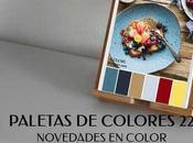 Paletas Colores Novedades Color