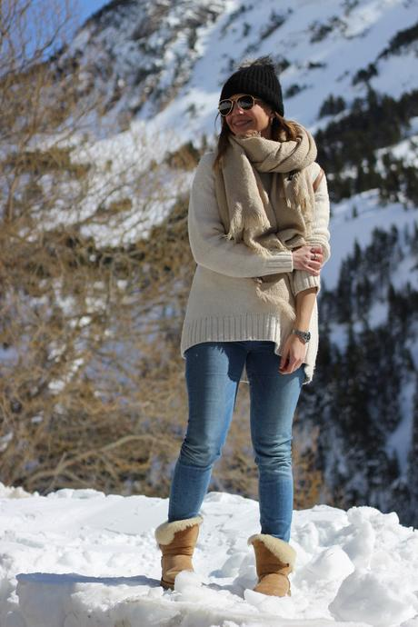 De Con Botas Paperblog Invierno Outfit Marrones Ugg v67fYgby