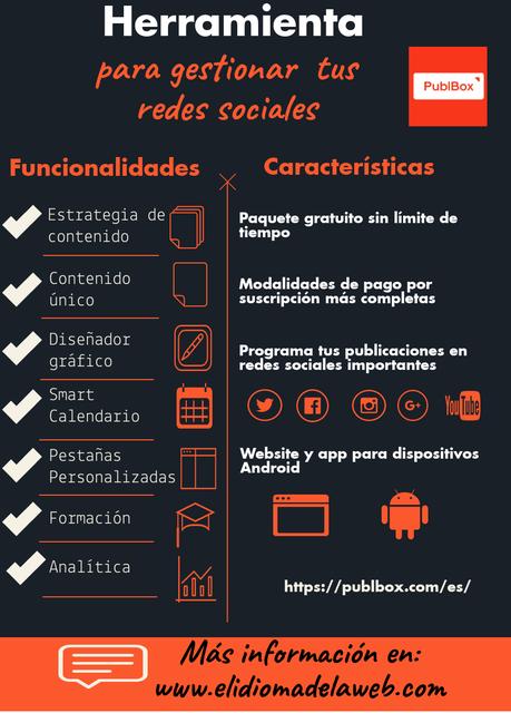 Herramienta fáci para gestionar redes sociales: PublBox