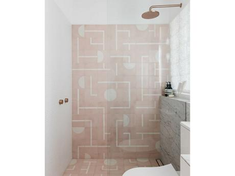 Marble and copper