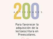 actividades para favorecer adquisición lectoescritura preescolares parte
