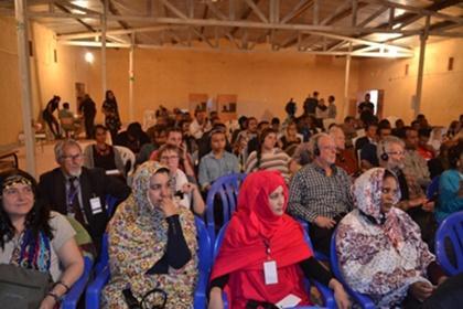 Se clausura en los Campamentos de Refugiados los trabajos de la Conferencia Internacional de Resistencia Pacífica