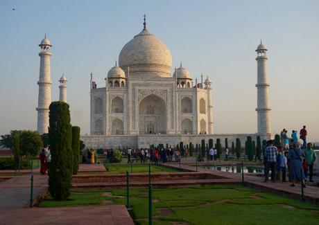 Agra, a la sombra del Taj Mahal