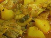 Receta guiso pollo tradicional Abuela