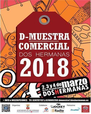 Arranca una nueva edición de la Feria D-Muestras Comercial Dos Hermanas 2018
