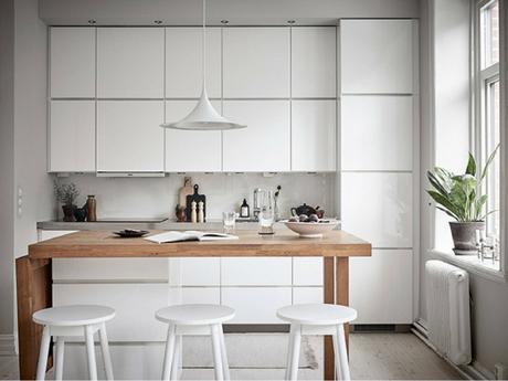 Una cocina abierta al salón