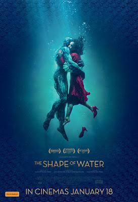 El amor puede con todo: The Shapeof Water (La Forma del Agua). Guillermos del Toro.