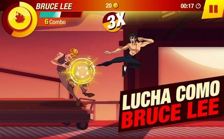 Ya está aquí Bruce Lee: El Juego para Android