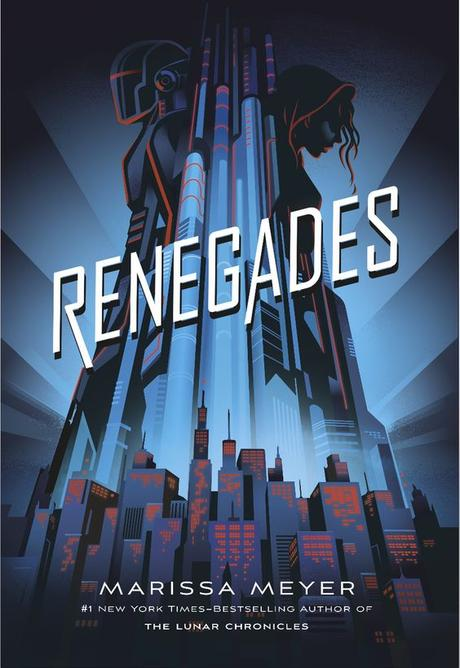 Cover reveal of Marissa Meyer's book, Renegades. // I've been waiting so long to see this cover!!❤️