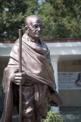 Estatua-Gandhi