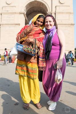 India-Gate_vendedora-ambulante