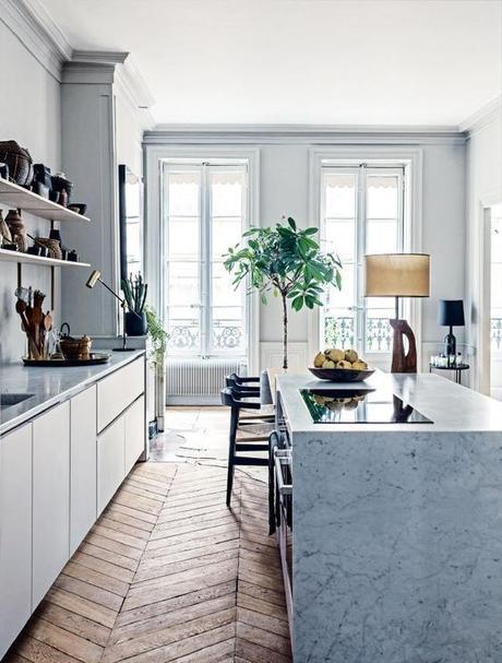 Un apartamento tan sofisticado que solo puede ser francés
