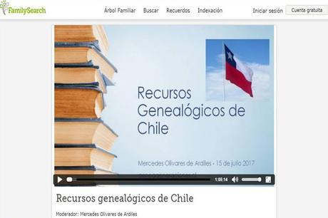 Recursos Genealógicos de Chile