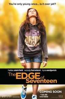 The edge of seventeen.