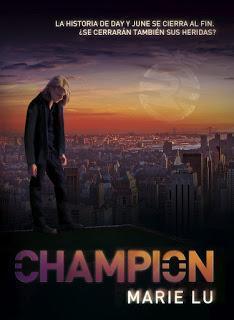 Reseña: Champion (Legend #3) - Marie Lu