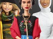 Barbie presenta nuevas muñecas basadas mujeres inspiradoras como Frida Kahlo Chloe Kim.