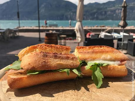 Comer en Lago di Garda viaje Italia