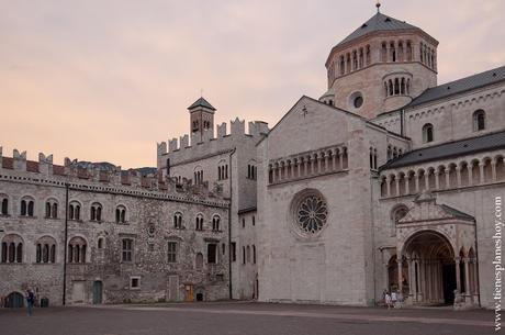 PLaza del Duomo Italia Trento que visitar