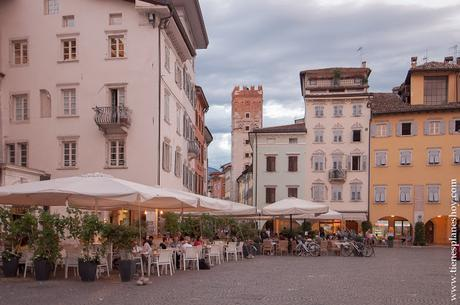 Visitar Trento atardecer viaje turismo Italia