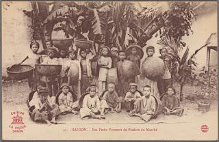 Thi May, robando niños en Vietnam