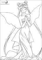 Dibujos Para Colorear De Sailor Moon Paperblog