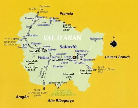 Otra nueva entrada en mi blog de escapadas... El Valle de Arán...
