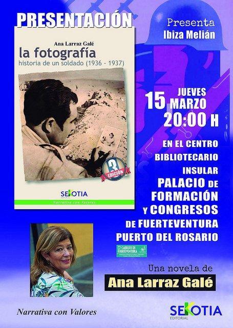 Presentación del libro de Ana Larraz Galé