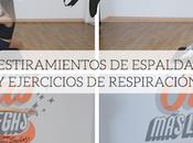 ESTIRAMIENTOS ESPALDA EJERCICIOS RELAJACIÓN Marilyn's Closet