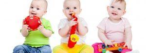 Mejores y peores juguetes para la dentición de bebés