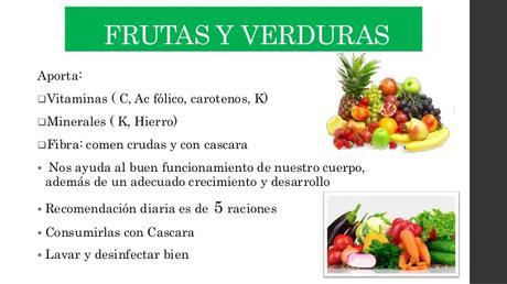 Comida sana, ¿solo frutas y verduras?