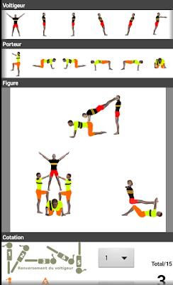 Acrosport Créator, una aplicación para crear figuras de Acrosport