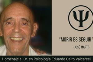 Homenaje al Dr. Eduardo Cairo Valcárcel