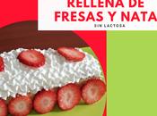 Brazo Gitano Manga Avena Rellena Fresas Nata Lactosa)