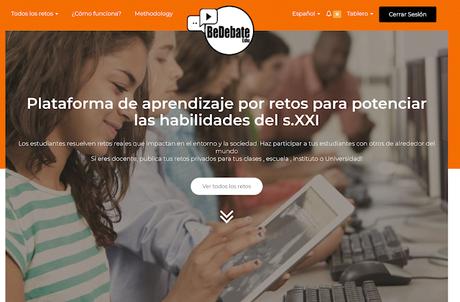 @EduBeDebate Prometedora Plataforma de Aprendizaje por Retos para potenciar las habilidades del S. XXI