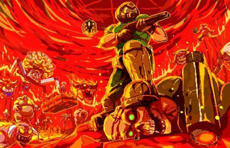 MiniDoom 2, el clásico de id Software reimaginado como un juego de acción y plataformas en 2D