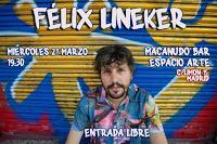 Concierto de Félix Lineker en Macanudo Bar