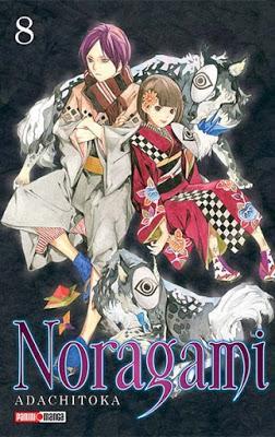 Reseña de manga: Noragami (tomo 8)