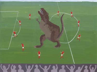 Fútbol y dinosaurios con Alex Chilvers