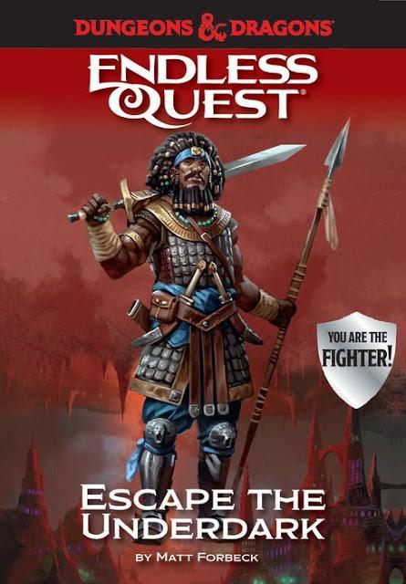 Matt Forbeck trae de vuelta  D&D Endless Quest
