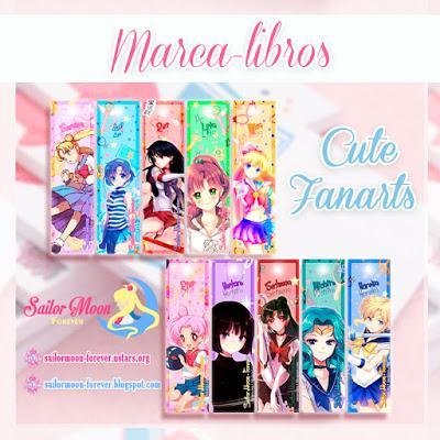 Marca-libros de Sailor Moon por Sailor Moon Forever
