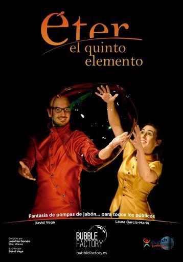 """LOS LUCHANA Y BUBBLE FACTORY ESTRENAN """"ÉTER, EL QUINTO ELEMENTO"""""""