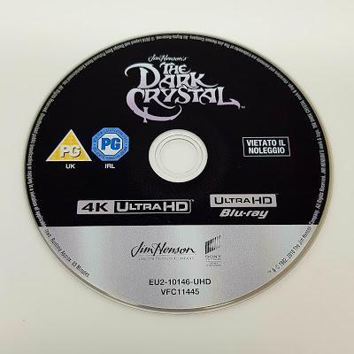 Cristal Oscuro Análisis de la edición 4K y Bluray