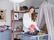 estilosa habitación bebé