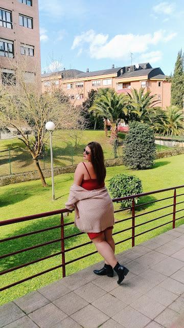 Vestido ajustado rojo ~ Fashion nova curve ~ Plus size Fashion