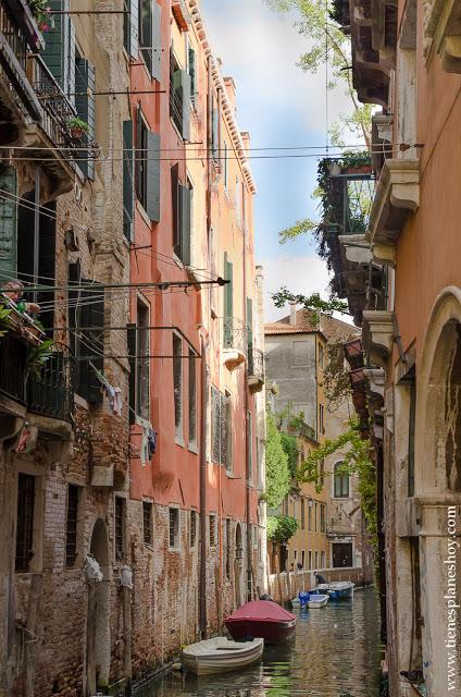 Canales Venecia ciudades Italia imprescindibles viaje