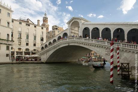 Venecia Puente de Rialto Italia viaje