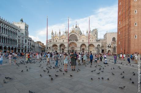Venecia Plaza de San Marcos Italia