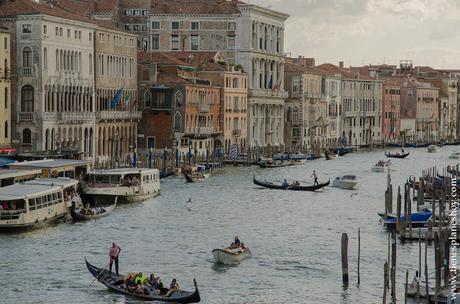 Venecia Gran Canal Puente de Rialto Italia viaje