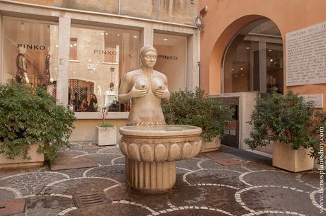 Treviso Fontana della Tete viaje Italia